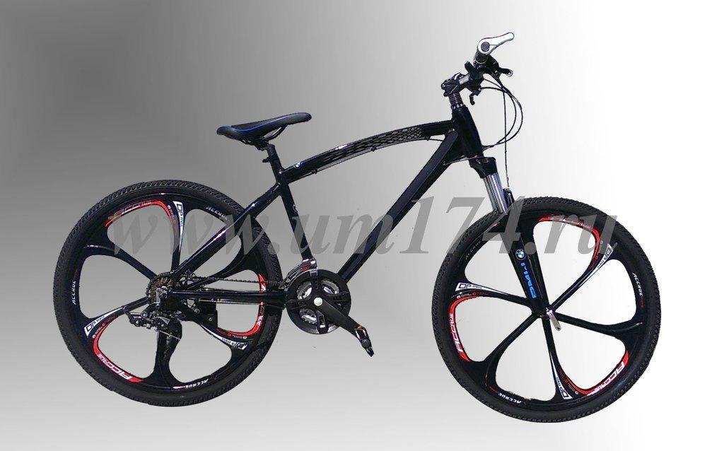 велосипед бмв на литых дисках фото